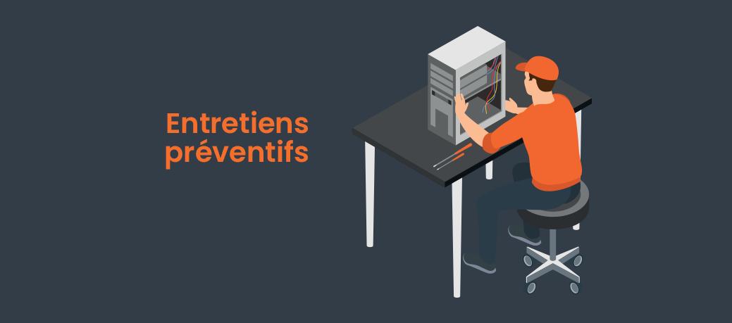 Gestion des entretiens préventifs & maintenances