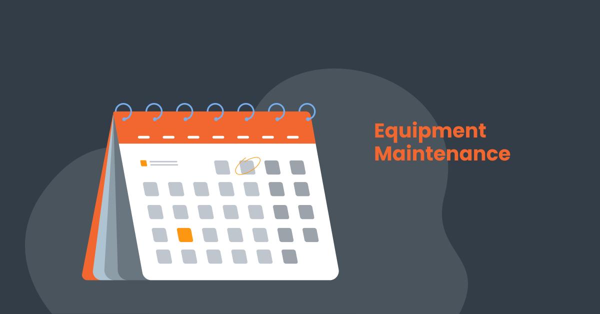 Calendar preventive maintenance plan