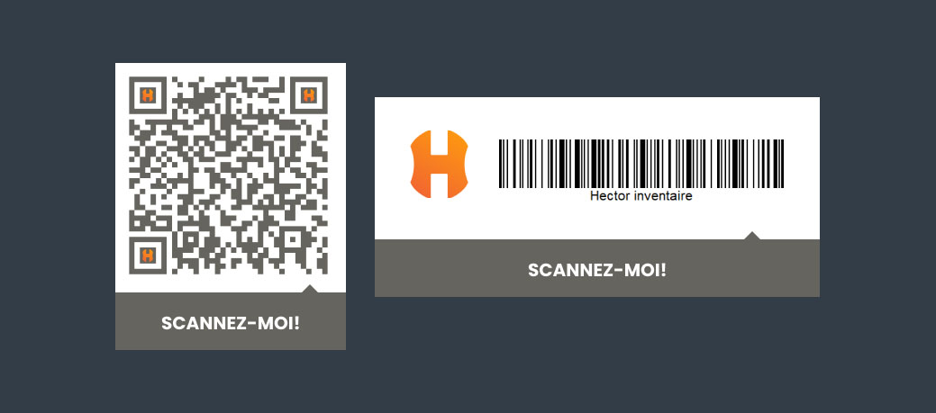 Codes-barres à scanner