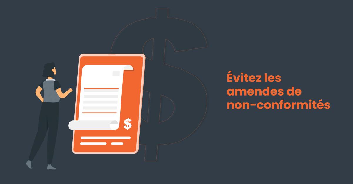 facture à payer car audit logiciel non conforme