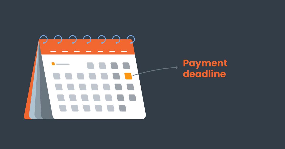 calendar software audit payments deadline