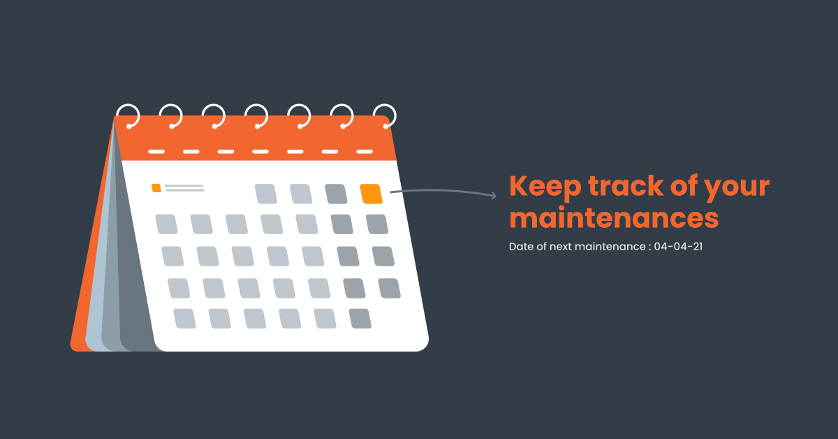 maintenance periods calendar