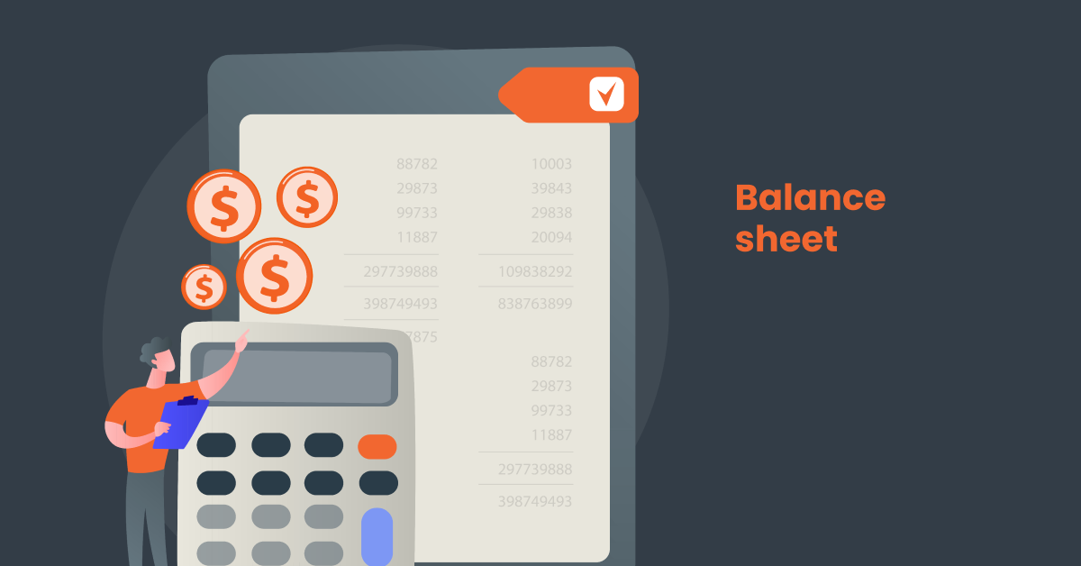 calculating a balance sheet