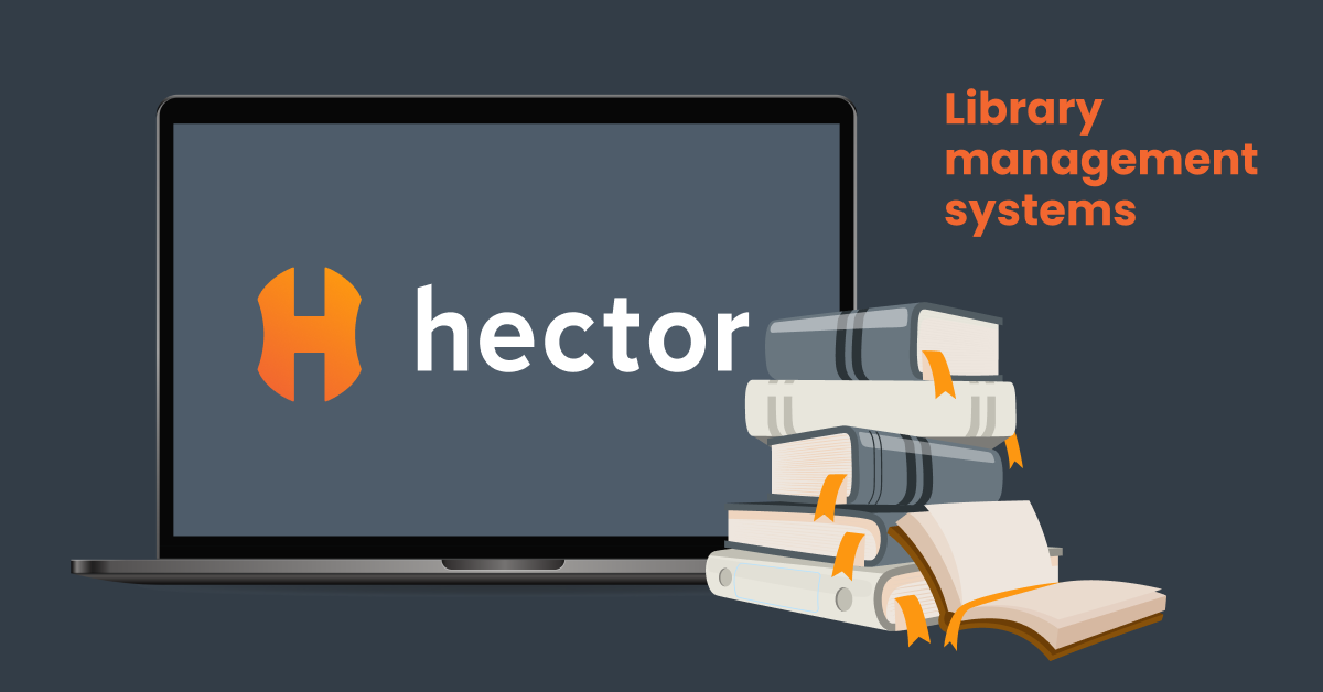 Library management software automation system