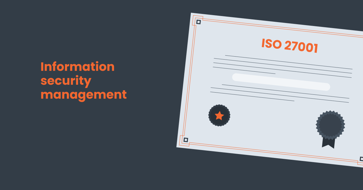 Hector will help you get your iso 27001 certification