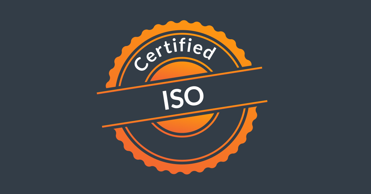 iso certification for a compagny